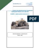 WA1200-3 N°03 INFORME DE FISURA EN SOPORTE DIFERENCIAL POSTERIOR