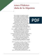 Filaleteo Ireneo - La Medula de La Alquimia
