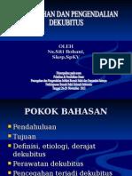 Pencegahan Pengendalian Dekubitus - Siti Rohani, Skep