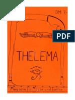 Thelema - Magazin Fã¼R Magie Und Tantra No 1