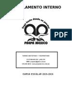 Reglamento Interno Prepa Mexico Formato Uady 15-16