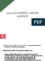 Spatiul Public, Opinia Publica