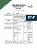 Planes de Accion Por Comites 2015