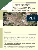 FOTOGRAMETRIA-Introduccion..