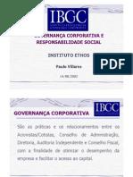 Governanca Corporativa e Responsabilidade Social