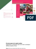 El sector papa en la región andina