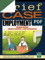 Barrow & Duddin, Charles Barrow, John G Duddington Employment Law (Briefcase) 2000