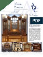 Prospectus Andover Organ Company