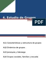 Estudio de Grupos