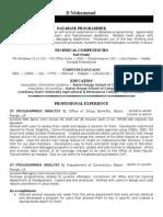 private resume