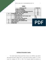 Fundamental Analysis on Engineering Sector
