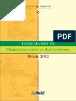 Sociedade 4 - Indicadores Do Desenvolvimento Sustentavel 2012