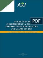 Coletanea de Jurisprudencia Do Carf Em Processos Relevantes Julgados Em 2013