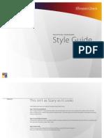 Foursquare Style Guide