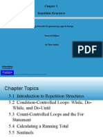 Starting Out With Programming Logic & Design - Chapter5_Repetition Structures