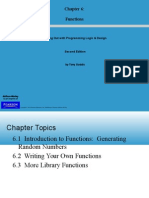 Starting Out With Programming Logic & Design - Chapter6_Functions