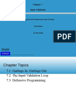 Starting Out With Programming Logic & Design - Chapter7_Input Validation
