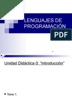 -Lenguajes de Programación