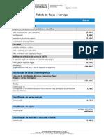 Taxas & Serviços(i008041)