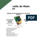 Introdução a geografia de Mato Grosso