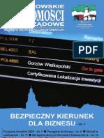 Gorzowskie Wiadomosci Samorzadowe 2009/01