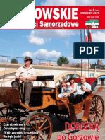 Gorzowskie Wiadomosci Samorzadowe 2009/09