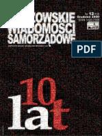 Gorzowskie Wiadomosci Samorzadowe 2009/12