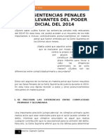 Las 8 Sentencias Penales Más Relevantes Del Poder Judicial Del 2014
