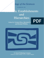 Norbert Elias-Scientific Establishments and Hierarchies