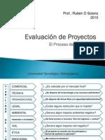 EVALUACION DE PROYECTOS -UTEM