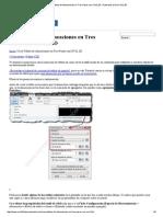 Crea Tablas de Alineaciones en Tres Pasos Con CIVIL 3D _ Tutoriales Al Día CIVIL 3D