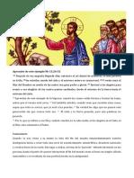 Comentario al Evangelio Mc 13,24-32