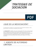 15 Estrategias de La Negociación