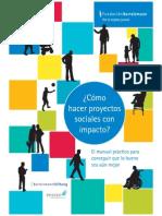 Como Hacer Proyectos Sociales Con Impacto FINAL