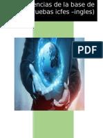 Evidencias de La Base de Datos ( Pruebas Icfes -Ingles)