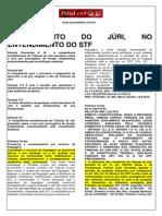 STF e STJ- Procedimento Do Júri