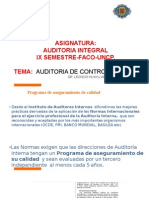 Auditoria a Control Interno- Uncp. 2015