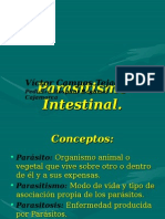 Parasitismo Intestinal 2015