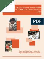 023 El UNGASS, Género y La Vulnerabilidad de La Mujer a La VIH SIDA en América Latina y El Caribe 2014