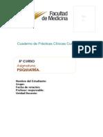 Cuaderono de Prácticas Psiquiatría