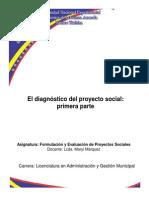 Diagnóstico de proyectos sociales_fase inicial