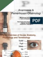 Workshop-Anamnesis & Pemeriksaan Oftalmologi Seminar IDI