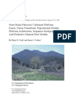 Great Basin Paleozoic Carbonate Platforms Guidebook