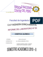 informe (cinetica quimica)