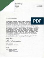 Reference from Paul Lagndon Richard Blumer Bob DelTredici