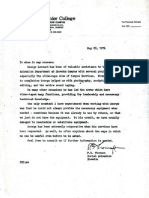 1976 Reference from P B Thompson - Vanier College CEGEP