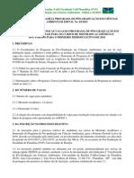 Edital Doutorado Em Ciências Ambientais
