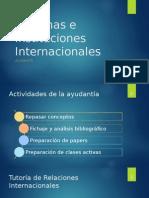 Clase Sistemas e Instituciones Internacionales