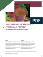 Meio Ambiente Propriedade e Cobertura Florestal
