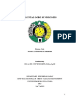 Frontal Lobe Syndrome